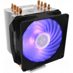 Кулер для процессора Cooler Master CPU Cooler Hyper H410R, 600-2000 RPM, RGB fan, 120W, Full Socket Support