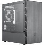 Корпус MasterBox MB400L w/o ODD TG MCB-B400L-KGNN-S00 mATX, Brushed Front Panel, Mesh Intakes, Tempered Glass side panel
