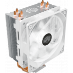 Кулер для процессора Cooler Master CPU Cooler Hyper 212 LED White Edition, 600 - 1600 RPM, 150W, White LED fan, Full Socket Support